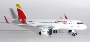 Airbus A320 NEO Iberia Herpa Diecast Collectors Model Scale 1:500 533027 E